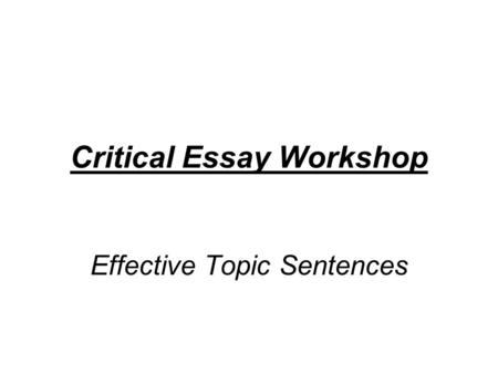 higher english critical essay powerpoint New higher critical essay questions new-higher-english-critical-essay-poetry-model-papers includes a powerpoint to introduce burns and describe his life and.