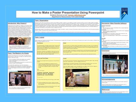 how to create a poster using powerpoint