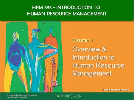 Human Resources Management 12e Gary Dessler