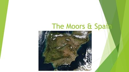 The Moors & Spain. The People of the Iberian Peninsula  Hispania was the Roman name for the Iberian Peninsula.  The people that have lived in Spain.