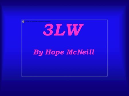 3LW By Hope McNeill. Their names are, starting from the left to the right, Adrienne(17), Naturi (18), and Keily (15) These are the three girls in a band.