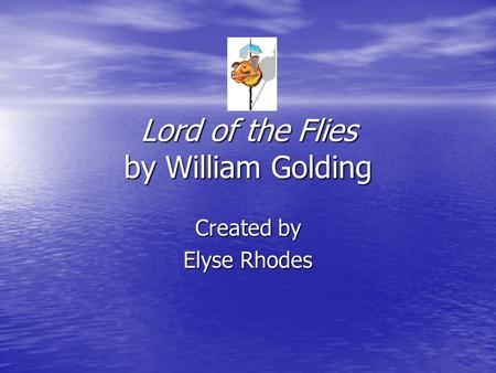 a summary of chapter 6 of lord of the flies by william golding In the novel lord of the flies, by william golding the setting had a very strong influence in the actions and attitudes of the characters setting is the defined in literature as where the story takes place.