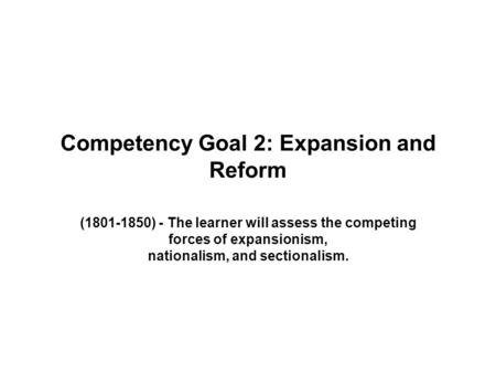 competency goal iii Essays - largest database of quality sample essays and research papers on competency goal 3 guidance.