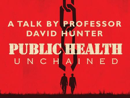 ∂ School of Medicine, Pharmacy & Health. ∂ A Tale in Two Parts  Looking back  2003 – 2013: a not too Horrible History of Public Health.
