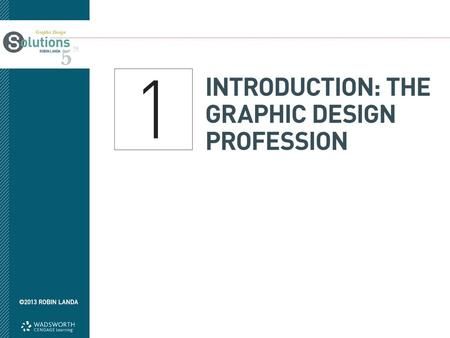 Objectives Define graphic design