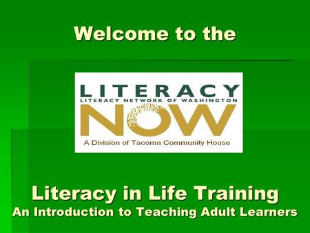 An introduction to the various teaching styles