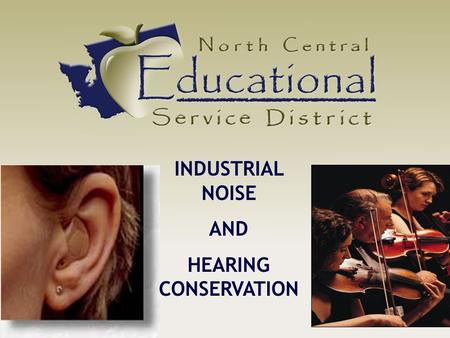 INDUSTRIAL NOISE AND HEARING CONSERVATION. What Is Noise?  Sound that bears no information  Interferes with wanted sound  Creates stress that affects.