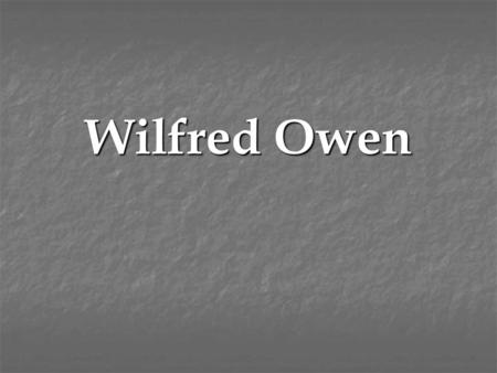 Wilfred Owen. Autobiography/Scrapbook My birth certificate (1893)