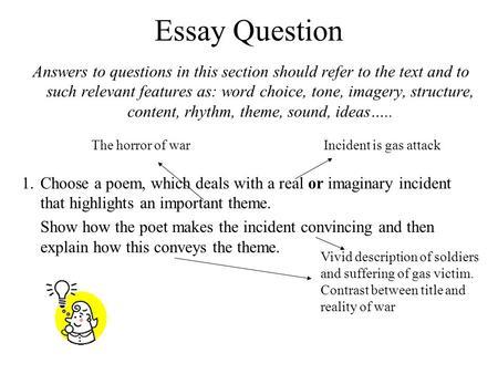 Essay nettles vernon scannell