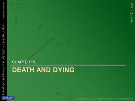 DEATH AND DYING Chapter 19