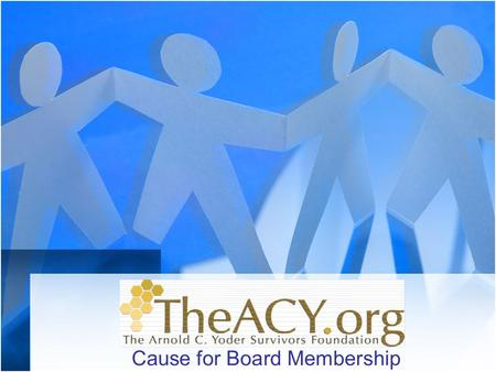 Cause for Board Membership. Serving grieving children, families & survivors on both sides of tragic events discover their own unique grief - forgiveness.
