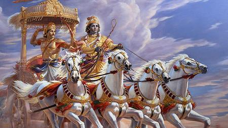We begin with a question: What is the Bhagavad Gita about? We begin with a question:
