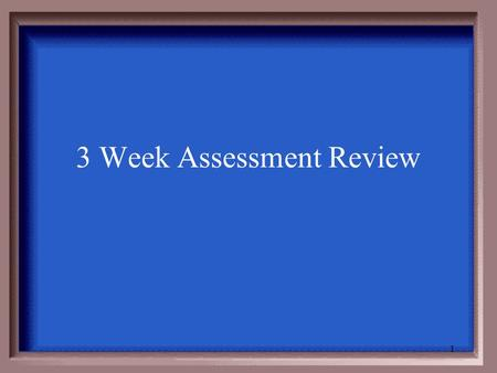 3 Week Assessment Review 1 2 What substance do people lack if they are unable to metabolize certain foods?