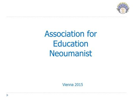 Association for Education Neoumanist Vienna 2015.