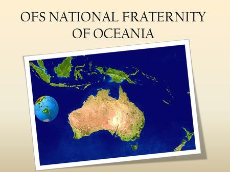 OFS NATIONAL FRATERNITY OF OCEANIA