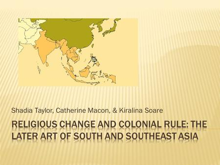 colonial rule southeast asia