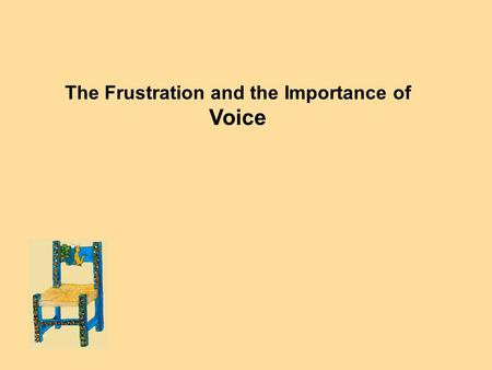 The Frustration and the Importance of Voice. Now You're White... Now You're Not (Martinez article – the Frustration of Voice) Now you're not white. Court.