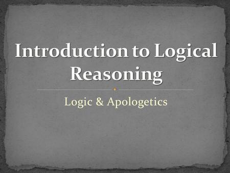 To arguments logic informal understanding an introduction pdf