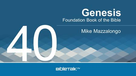 Foundation Book of the Bible Mike Mazzalongo Genesis 4 0.