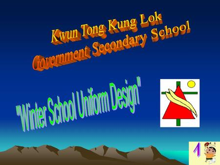 In this project,we will introduce our winter school uniform design for the girls. In this project,we will introduce our winter school uniform design.