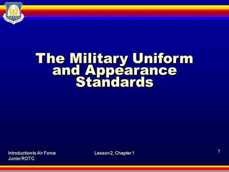 army wear and appearance essay