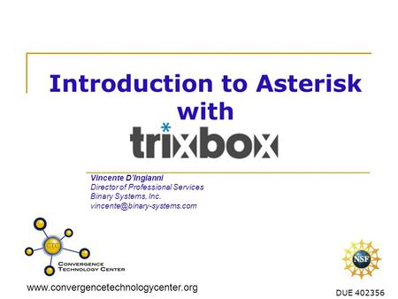 Introduction to Asterisk with