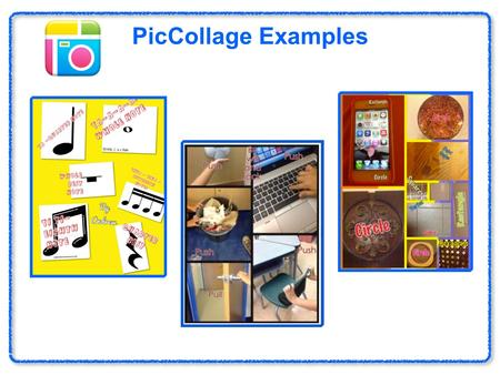 PicCollage Examples Haiku Deck (free). Collage Station Pick one of the contributing factors of quality of life such as shelter, food, job or income, schooling,