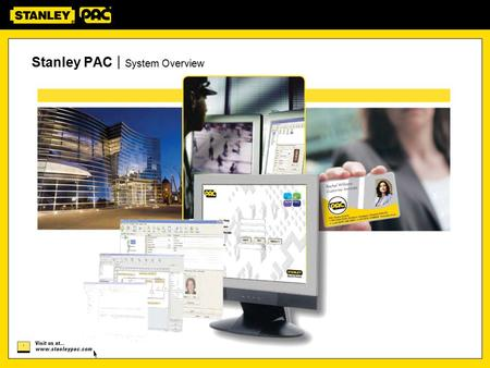 Stanley PAC | System Overview