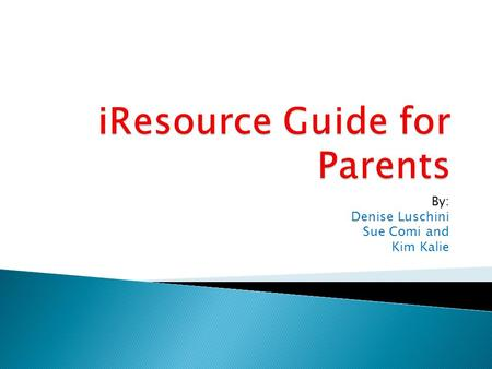 By: Denise Luschini Sue Comi and Kim Kalie.  This resource tool gives parents a list of apps in each developmental domain to support their child's development.