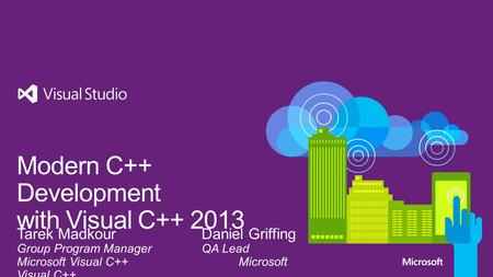Visual Studio 2013 Conformance Performance Productivity Services Mobile Devices What's Next.