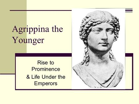 Rise to Prominence & Life Under the Emperors