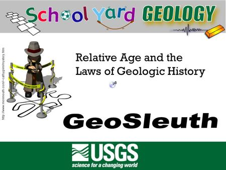 Title  Relative Age and the Laws of Geologic History.