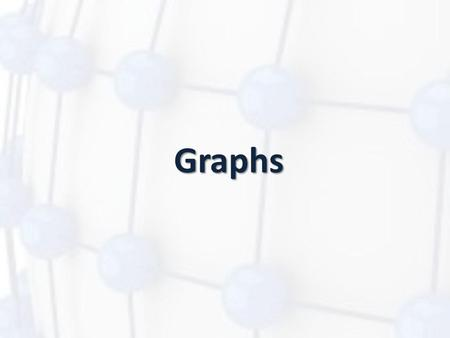 Graphs. Introduction A graph is an abstract data structure that is used to implement the graph concept from mathematics. A graph is basically, a collection.