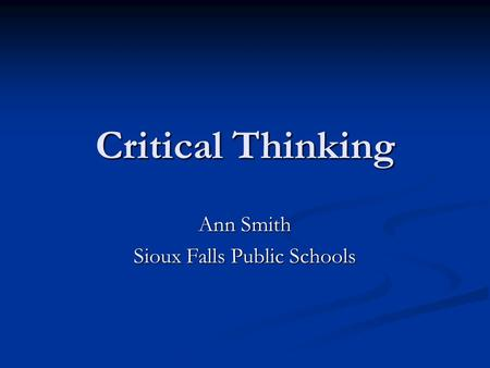 critical thinking in elementary school Here are some wonderful tools and strategies for beginning to foster a critical thinking mindset in your elementary school students.