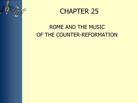 OF THE COUNTER-REFORMATION