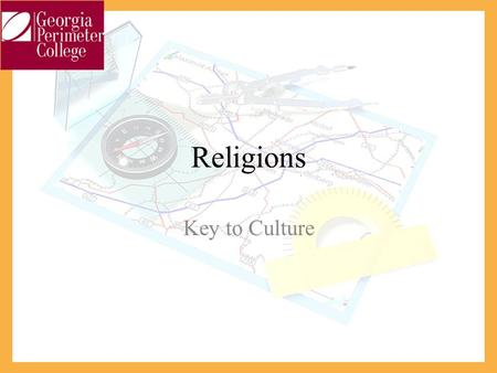 Religions Key to Culture. Religion – Geographer's View A Religions' diffusion process across the landscape may conflict with the distribution of others.