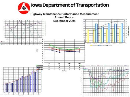 Highway Maintenance Performance Measurement Annual Report September 2004.