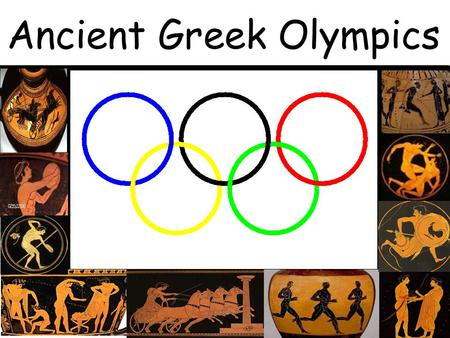 Ancient Greek Olympics - ppt download
