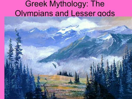 Greek Mythology: The Olympians and Lesser gods Prometheus2 Prometheus on the Hopkin's water tower.