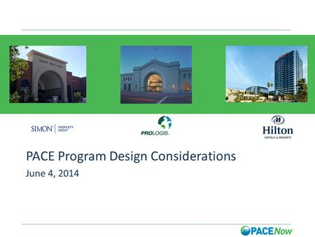 A PACE Program Design Considerations June 4, 2014.