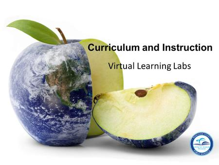 Virtual Learning Labs Curriculum and Instruction.