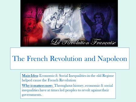 What were the Political Causes of French Revolution?