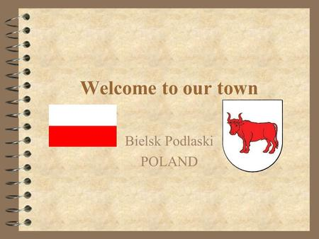 Welcome to our town Bielsk Podlaski POLAND. Come with us and walk around.