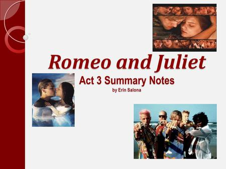 Dramatic situational and verbal irony in romeo and juliet a play by william shakespeare