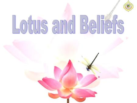 This lotus has 1,000 golden petals from which mountains rise and waters flow. In India, the Lotus also represents birth. Vishnu puts forth from his.