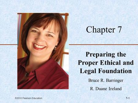 Preparing the Proper Ethical and Legal Foundation