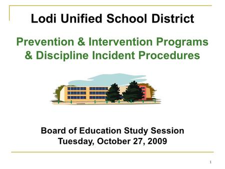 Lodi Unified School District