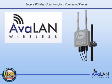 Secure Wireless Solutions for a Connected Planet.