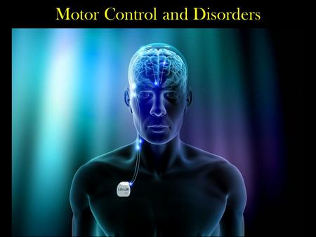 Motor Control and Disorders. Basal Ganglia Disorders Parkinson's Disease Huntington's Disease Tourette's Syndrome.