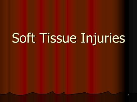 1 Soft Tissue Injuries. 2 Skin Anatomy and Physiology Body's largest organ Body's largest organ Three layers: Three layers: Epidermis Epidermis Dermis.